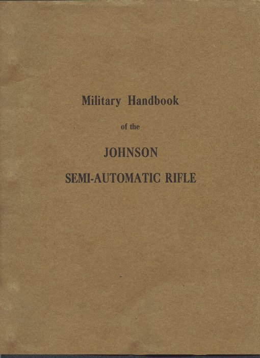Cover of 1940 Rifle Manual