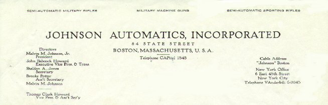 Johnson Autos letterhead